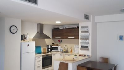 Photo for Comfortable apartment only 180m from the sea.