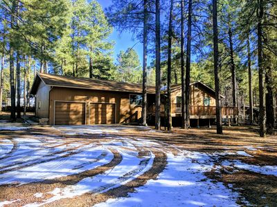 Photo for Pinetop Cabin 4bed/2bath