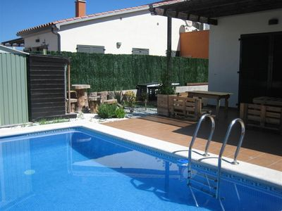 Photo for HOUSE WITH PRIVATE POOL, IDEAL FAMILIES OF UP TO 6 PEOPLE