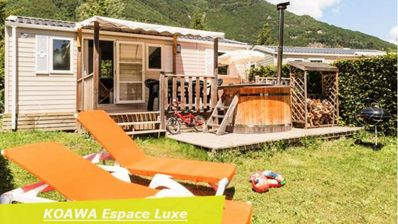 Photo for Camping Le Château de Rochetaillée ***** - Mobile home 3 Rooms 4/6 People