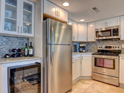 Photo for BEAUTIFULLY UPDATED Oceanfront Condo w/ wine fridge