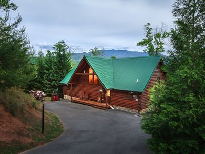 Photo for Emotional Rescue 4 BR Log Lodge, Wireless, Arcade, Black Bear Falls Resort Pool