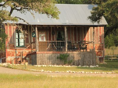 Photo for Chic Rustic Country Cabins mere minutes from Main Street Fredericksburg