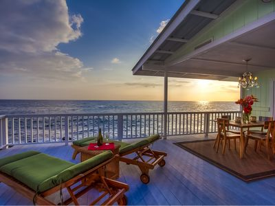 Photo for Stunning Oceanfront Cottage