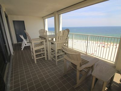Photo for WP906 Monster Gulf Front Wrap Balcony. Beautiful 3 bedroom 2 bath With All The Amenities. Sugar Sands
