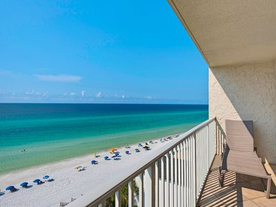 Photo for Beautiful Condo with Spectacular Views and Gulf-Front heated pool ~ FREE Seasonal Beach Chairs