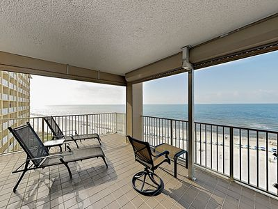 Photo for Gulf-Front Orange Beach Condo w/ 3 Pools & Hot Tub - By TurnKey