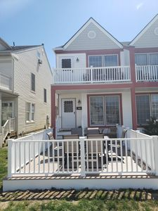 Photo for Beautiful Beach Block House, new front deck! Now Booking For Summer 2020!