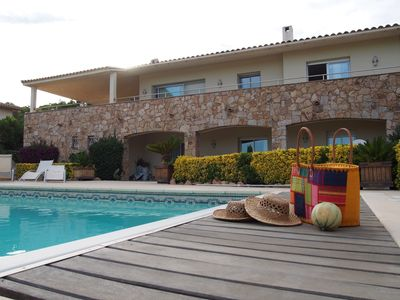 Photo for Independent villa on standig for 12 persones with a private pool