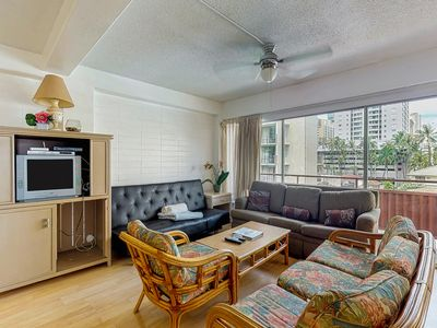 Photo for NEW LISTING! Comfortable condo with a shared pool & hot tub - close to beach!