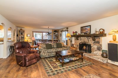 Living Area - There's a charming, homey feel to this family room.