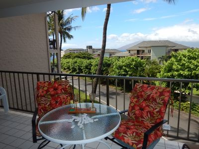 Photo for Panoramic View of W. Maui Mt, Partial Ocean View, Quiet St, 3 min Walk to Beach