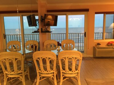Photo for -Beautiful Ocean Front Condo, Ocean View From Every Room, Pool+Roof Top Sundeck-