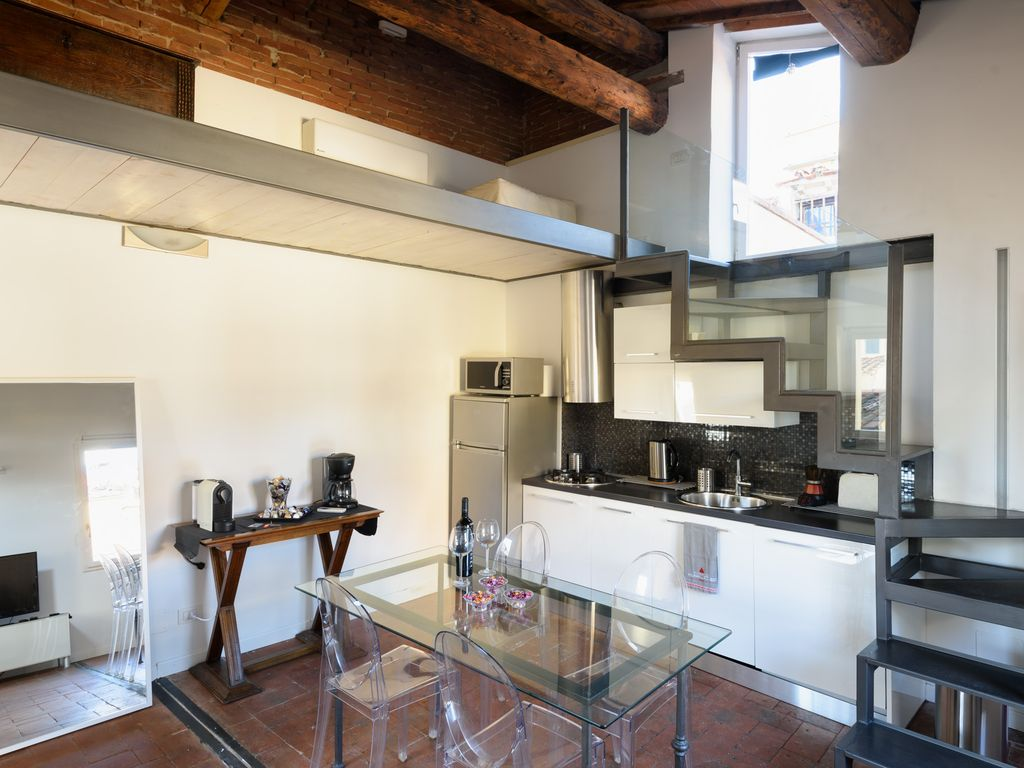luxury modern big penthouse panoramic homeaway duomo