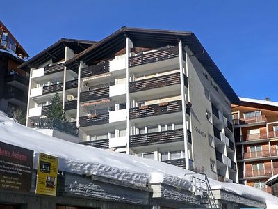 Photo for One bedroom Apartment, sleeps 2 in Zermatt with WiFi