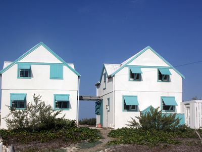 Photo for Salt Cay Beach House South,  Oceanfront Cottage just 50 feet from the beach !