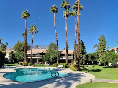Photo for Fully Renovated 2-Bed 2-Bath at Resort Style Palm Canyon Villas