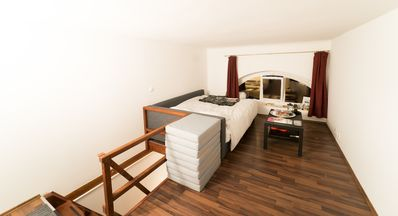 Photo for Renovated artist loft in the center of Budapest