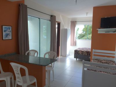 Photo for Fully furnished apartment, 150 m from the sea - Bombas / Bombinhas