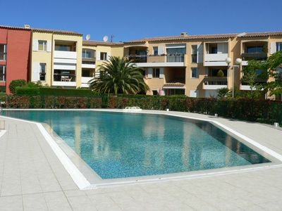 Photo for CASSIS / SEA appt T3 terrace Swimming pool PROMO 25 (or 26) AUGUST-1st (or2) SEPTEMBER