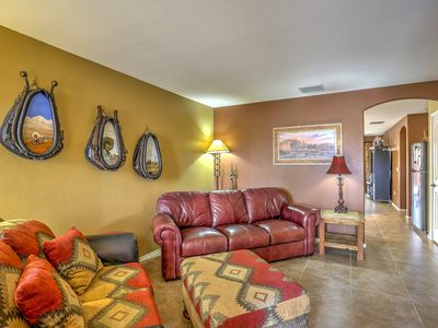 Tucson House with Patio & Grill ~ 6 Mi to Trails!