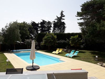 Photo for Superb charming villa with private pool. 10 min from la Baule