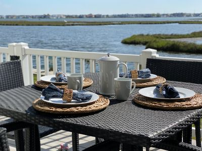 Photo for Waterfront Beauty - Amazing views! Brand new kitchen appliances!