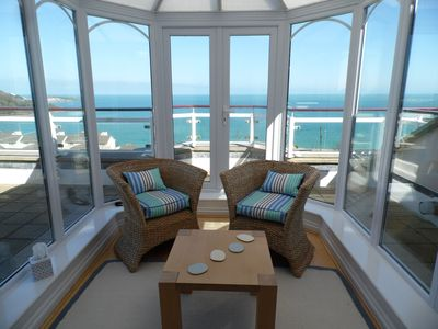 Photo for Spectacular Penthouse In Carbis Bay Boasting Fabulous Sea Views