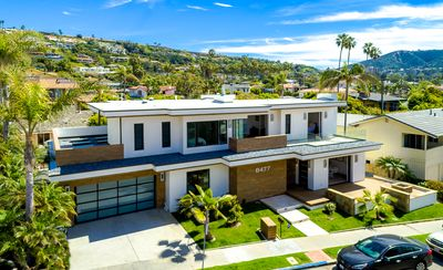Photo for Dolphin Sunset - luxury home with large jacuzzi, ocean views in la jolla shores