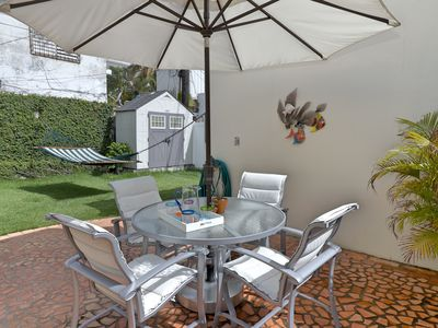 Photo for 1 Bedroom  garden apartment tastefully decorated and equipped for you to enjoy