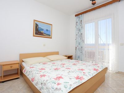 Photo for Studio flat with balcony and sea view Stanići, Omiš (AS-2818-a)