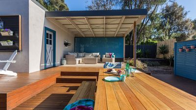 Photo for Fully renovated and styled with amazing outdoor deck area plus sauna