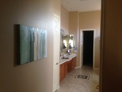 Master Bath / Walk in Closet / Soaker tub and shower- Double Sink