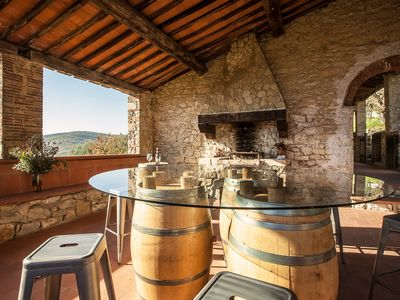 Photo for Exquisite 16th-Century Tuscan Villa in the heart of Tuscany