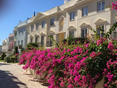 Photo for 3 BR, 2.5 bath with rooftop terrace  in sought after Old Village, Vilamoura