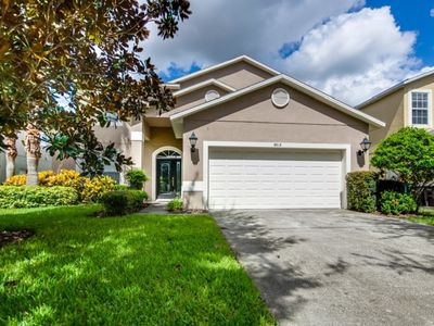 Photo for Beautiful 7 Bed Gated Pool Home At Acadia Estates
