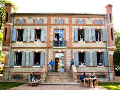 Photo for 9BR Castle Vacation Rental in Marzens, Occitanie