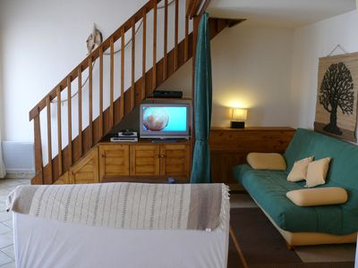 Photo for Very nice apartment 60 m2 150 m from the central beach and close to shops