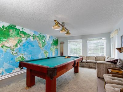 Photo for Comfortable house w/ pool table & Ping-Pong - beach down the street