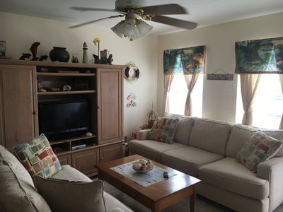 Photo for N.Padre Island,Texas 2/2 condo. Available long term or short term.  Water views.