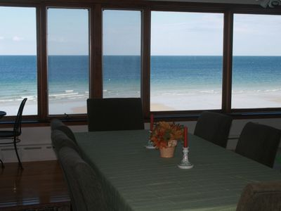 Photo for Oceanfront Home on Private Beach in Historic Plymouth