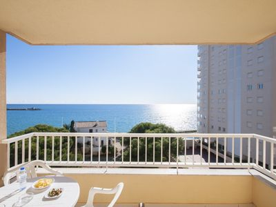 Photo for Apartment excelent located, 100m. beach, pool, sea views.