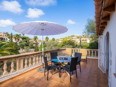 "Photo for Stunning Holiday Home ""Casa Dulcinea"" Close to the Beach with Wi-Fi, Garden, Balcony & Terrace; Parking Available, Pets Allowed"