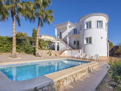 Photo for SOLEADA, Comfortable and modern villa in the hills of Calp,Alicante