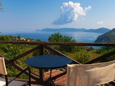 Photo for Ideal location, total privacy with cliff pool, specious garden, terrace & views