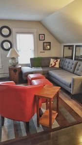 Plenty of seating to lounge and relax or entertain friends.