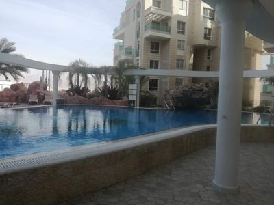 Photo for Golf residence 5mns walk from the beach