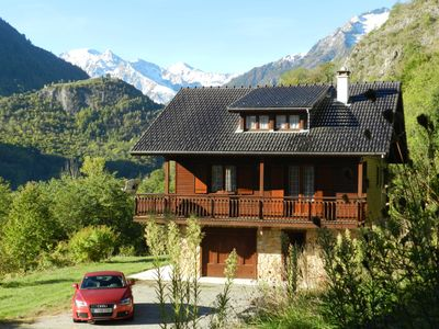 Photo for Chalet Le Montcalm located in the heart of the Regional Natural Park Ariègeois