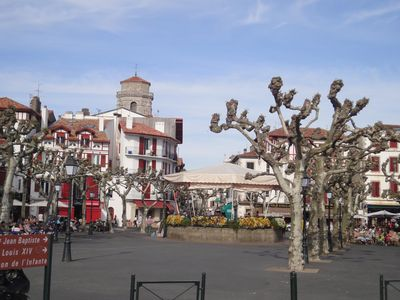 Photo for St Jean de Luz: appart. in the historical district, 20m from the beach, WIFI
