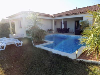 Photo for beautiful villa near to the center, shops, shared Swimming pool, air conditioni